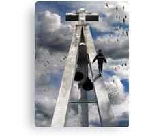 walk of faith Canvas Print