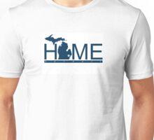 Michigan Home  Tiger Blue Unisex T-Shirt
