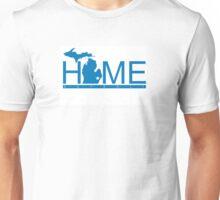 Michigan Home Lions Blue  Unisex T-Shirt