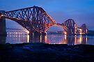 Reflections Before Sunrise: The Forth Railway Bridge  by DonDavisUK