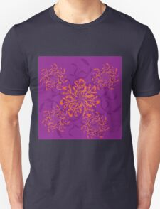 Abstract colorful floral ornament 3 T-Shirt