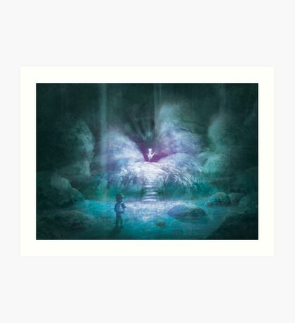 Cerulean Secret (20 Left!) Art Print