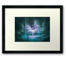 Cerulean Secret (35 Left!) Framed Print