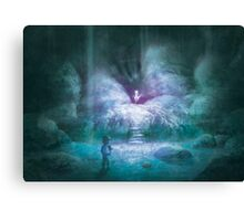 Cerulean Secret (50 only) Canvas Print