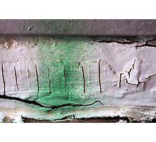 Peeling Paint 15 Photographic Print