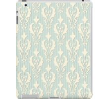 Vintage wallpaper. Delicate veil-like pattern. iPad Case/Skin