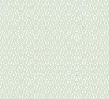 Vintage wallpaper. Delicate veil-like pattern. by LourdelKaLou
