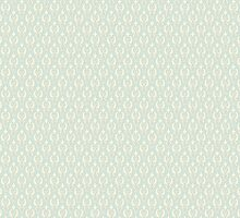 Vintage wallpaper. Delicate veil-like pattern. by LourdelKaLou