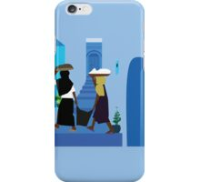 Two women in an alley  iPhone Case/Skin