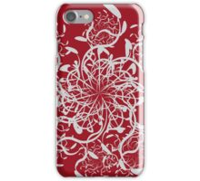 Abstract colorful floral ornament 5 iPhone Case/Skin