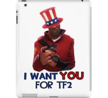 I want you for TF2! - Team Fortress 2 iPad Case/Skin