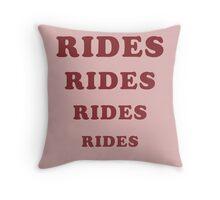 Adventureland - Rides Throw Pillow