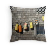 Buoys Throw Pillow