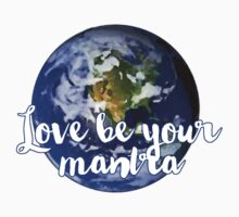 Love Be Your Mantra (World) Kids Clothes