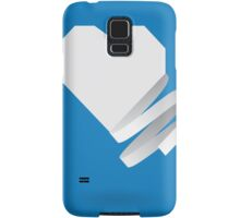Paper heart with ribbon Samsung Galaxy Case/Skin