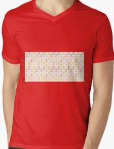 Vintage pattern design.  Mens V-Neck T-Shirt