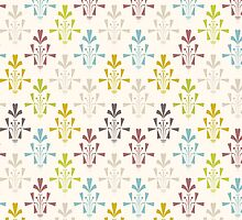 Vintage pattern design.  by LourdelKaLou