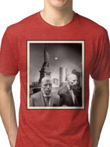 Martian New Yorkers Tri-blend T-Shirt