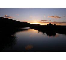 Swan Park Sunset Bellerena Co. Derry  Ireland  Photographic Print