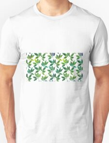 Pattern with abstract palm leaves T-Shirt