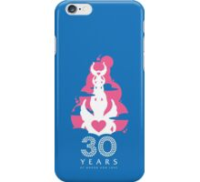 30 Years of Honor and Love iPhone Case/Skin