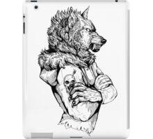 Wolf Rising Inks iPad Case/Skin