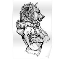 Wolf Rising Inks Poster