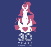 30 Years of Honor and Love T-Shirt