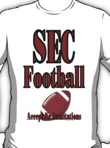 SEC Football T Shirt  T-Shirt