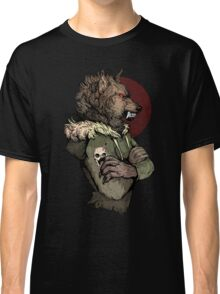 Wolf Rising Brown Classic T-Shirt