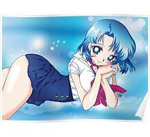 Sailor Mercury as Ami Mizuno Poster