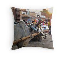 Markets in Jodhpur, India Throw Pillow