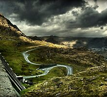the way down HDR by Jordan Whipps