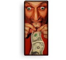 The Color of Money Canvas Print