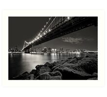 Sleepless Nights And City Lights Art Print