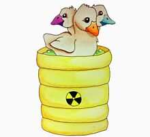 Lisa Frank Three-Headed Ducklings Unisex T-Shirt