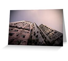Hong Kong Highrise Greeting Card