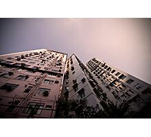 Hong Kong Highrise Photographic Print