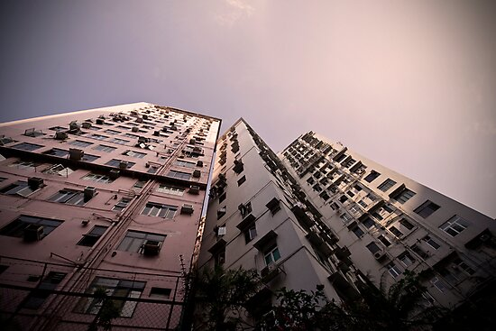Hong Kong Highrise by Keegan Wong