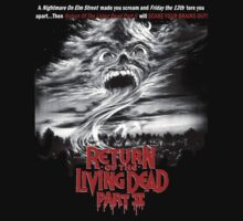 RETRO RETURN OF THE LIVING DEAD PART II - GHOST by shawnofthe80s