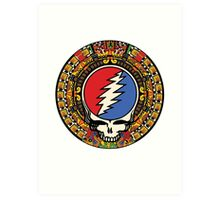 2012 Mayan Steal Your Face - Full Color Art Print