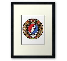 2012 Mayan Steal Your Face - Full Color Framed Print