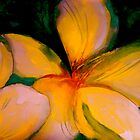 Tropics..Frangipani Night by  Janis Zroback