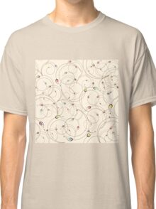 Abstract curly pattern Classic T-Shirt