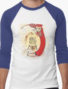 medieval Magic baby!! Men's Baseball ¾ T-Shirt