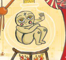 medieval Magic baby!! Sticker