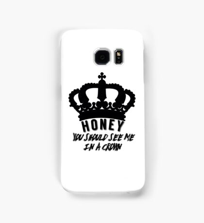 Moriarty quote design Samsung Galaxy Case/Skin