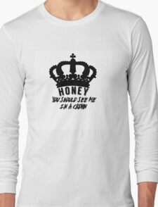 Moriarty quote design Long Sleeve T-Shirt