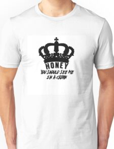 Moriarty quote design Unisex T-Shirt