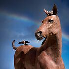 Horse and Sparrow by Alex Preiss